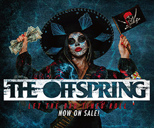THE OFFSPRING 9年振り10作目のニューアルバム『Let The Bad Times Roll』2021.4.16発売!